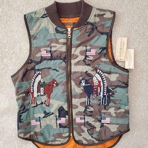 Denim & Supply Ralph Lauren Camo Military Vest